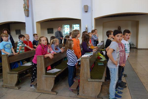 Fronleichnam 2015 Niels-Stensen Grundschule Hameln
