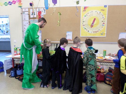 Karneval 2014 Niels-Stensen Grundschule Hameln