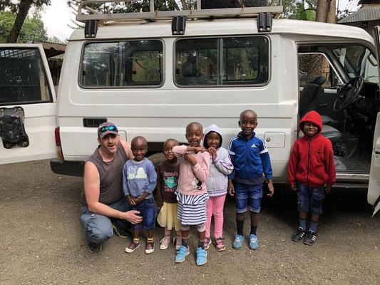 Ausflug zum Arusha Nationalpark