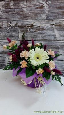 цветы в корзине купить новочеркасск