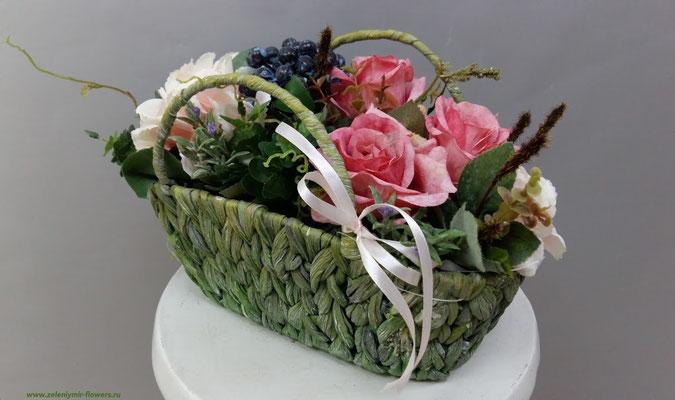 композиции из искусственных цветов на свадьбу боковская