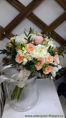 букет невесты казанская