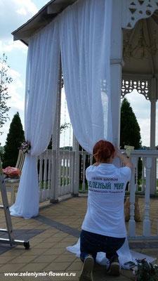 оформление свадебного зала вешенская