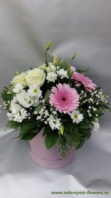 цветы в корзине купить миллерово