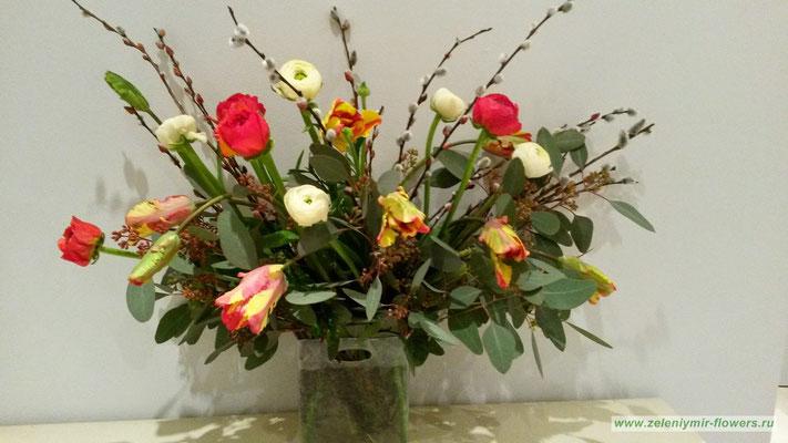 магазин цветов казанская