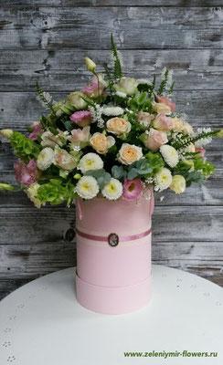 композиция из цветов в корзине  купить новочеркасск