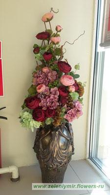 купить искусственные цветы боковская