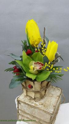 купить цветы вешенская