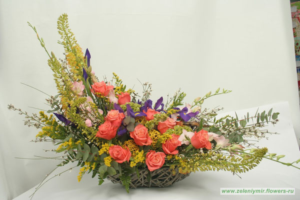 купить композиции из цветов новочеркасск