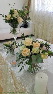 свадебное оформление машины миллерово