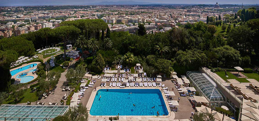 Cavalieri Rome, A Waldorf Astoria Hotel