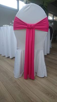 Schleifenband stretch pink
