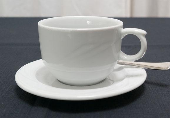 Cappuccinotasse obere und untere