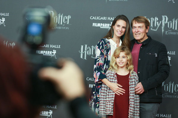 Katrin Wröber & Family @ Harry Potter