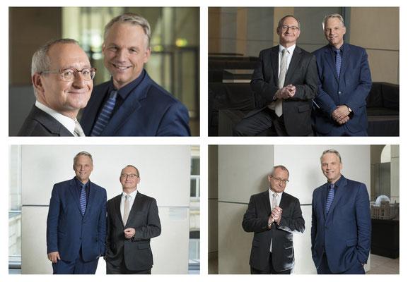 Erhard Scherfer + Gerd-Joachi von Fallois @ Phoenix Television