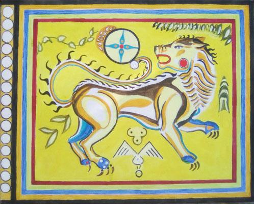 Druide lion.