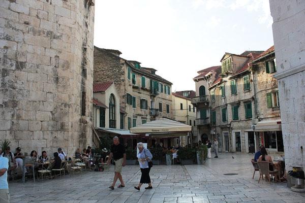 Innenstadt von Split in Kroatien