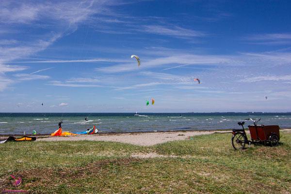Kitespot Hünengrab auf Fehmarn
