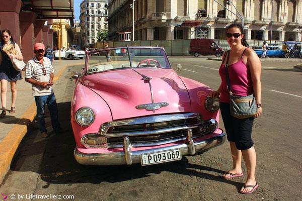 Oldtimer fahren in Havanna