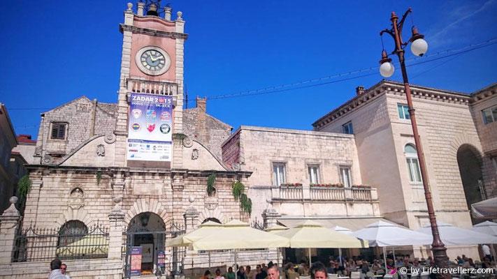 Innenstadt von Zadar nahe Nin