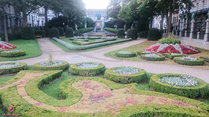 Park beim Sightjogging in Brüssel by Lifetravellerz