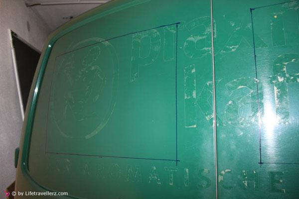 VW T5 Seitz S4 Ausstellfenster einbauen