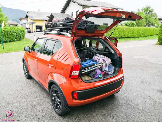 Mit dem Suzuki Ignis beim Campen