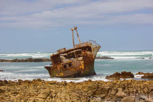 Schiffswrack in Cape Agulhas