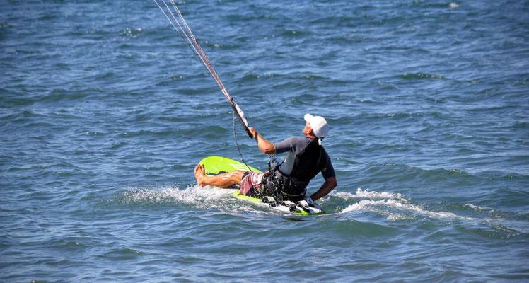 Kitespot Portoroz Slowenien - Kitesurfen - Raceboard