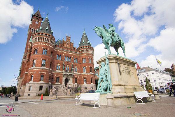 Helsingborg, Schweden - Vom Nordkap nach Österreich
