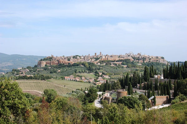 Die Stadt Assisi in Umbrien Italien
