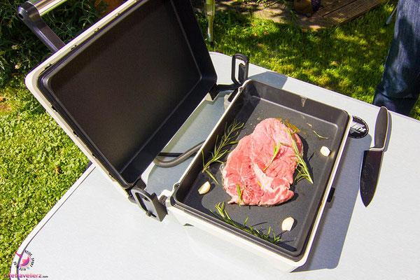 EfbeGourmet Chef von KALORIK Steak braten