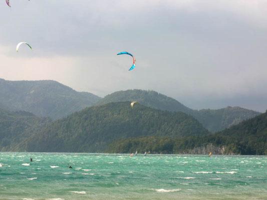 Kitesurfen Wolfgangsee