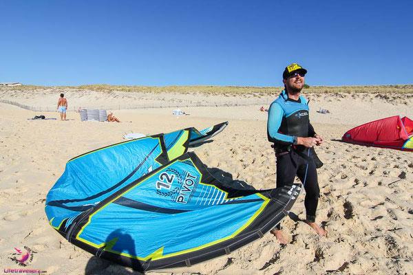 Kitesurfurlaub in Aquitanien