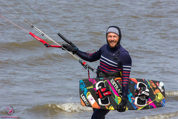Kitesurfen in Sankt Peter-Ording