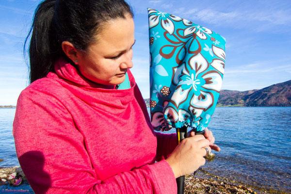 DIY: So nähst du einen Paddelschutz für dein SUP Paddel