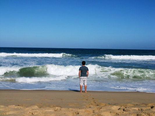 Am Strand von Ericeira