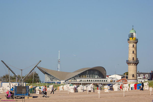 Strand von Warnemünde