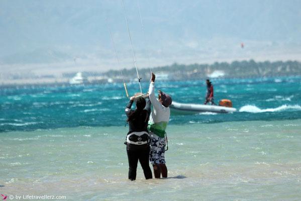 Kitesurfen lernen in Somabay