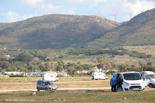 Kitesurfen in Tarifa - Kitespot Valdevaqueros - Schweinewiese