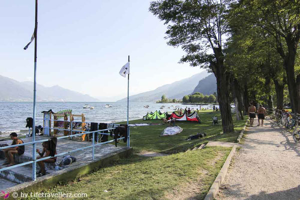 Kitesurfspot Comersee-Kitesurfen LAgo di Como-Kiteboarding-Lifetravellerz