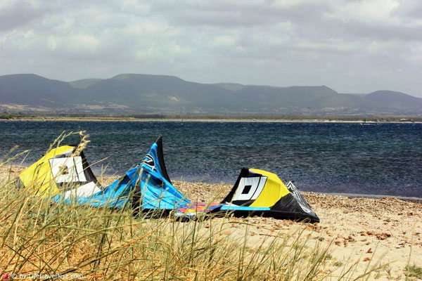 Kitesurfen in Porto Botte