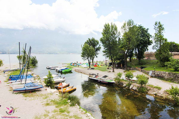 Kitesurfspot Campione am Gardasee