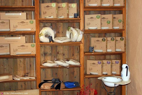 Kräuter und Körperpflegeprodukte