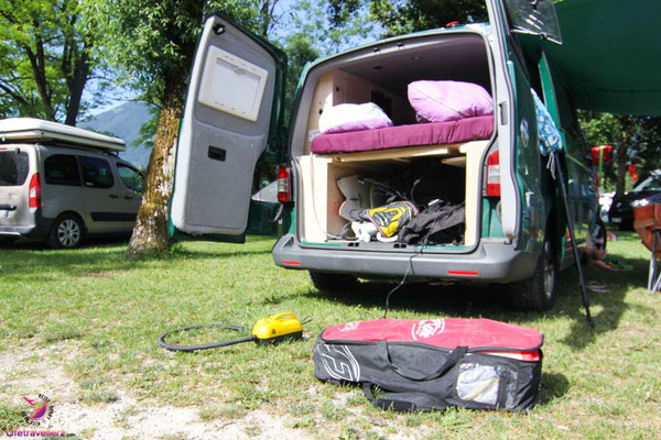 Guerilla Camping mit dem VW Bus