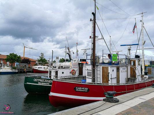 Fischkutter in Heiligenhafen