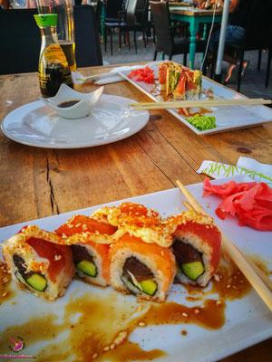 Essen in Südafrika - Sushi