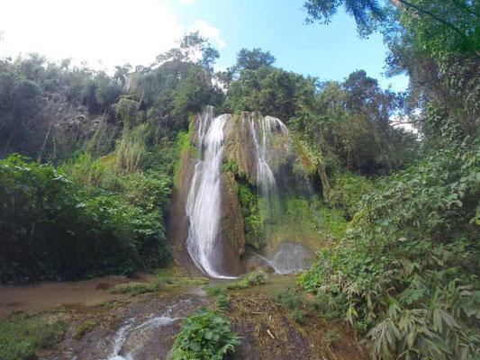 Wasserfall in der Nähe von Trinidad auf Kuba