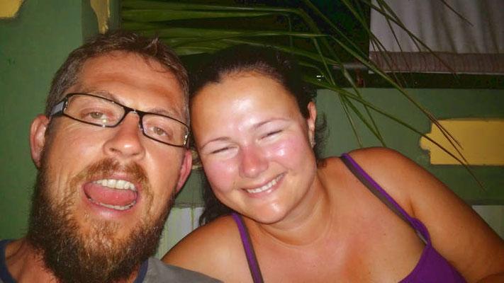 Betrunken von Mojitos in Kuba