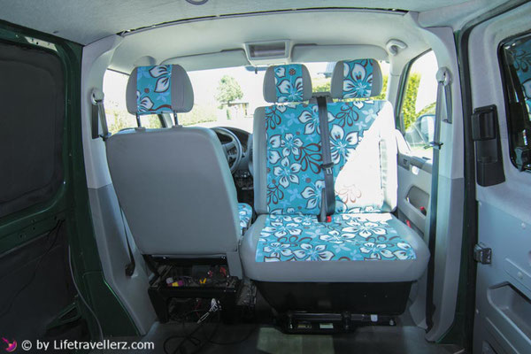 VW T5 - Auto Sitzbezüge selbst nähen